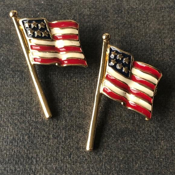 America Flag Pins
